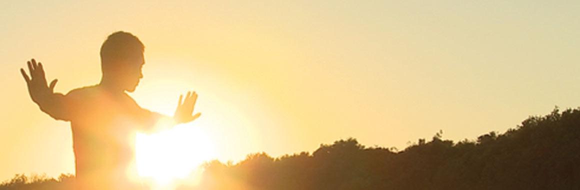 Dru Yoga EBR 3 sun silhouette