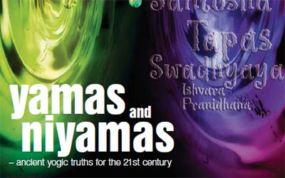 Yamas and Niyamas - article by Patricia Brown