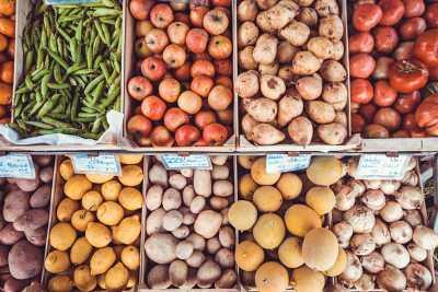 Organised Vegetables