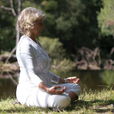 Moul MacKenzie Meditating