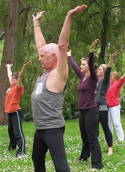 Dru yoga - Salututation to the four directions